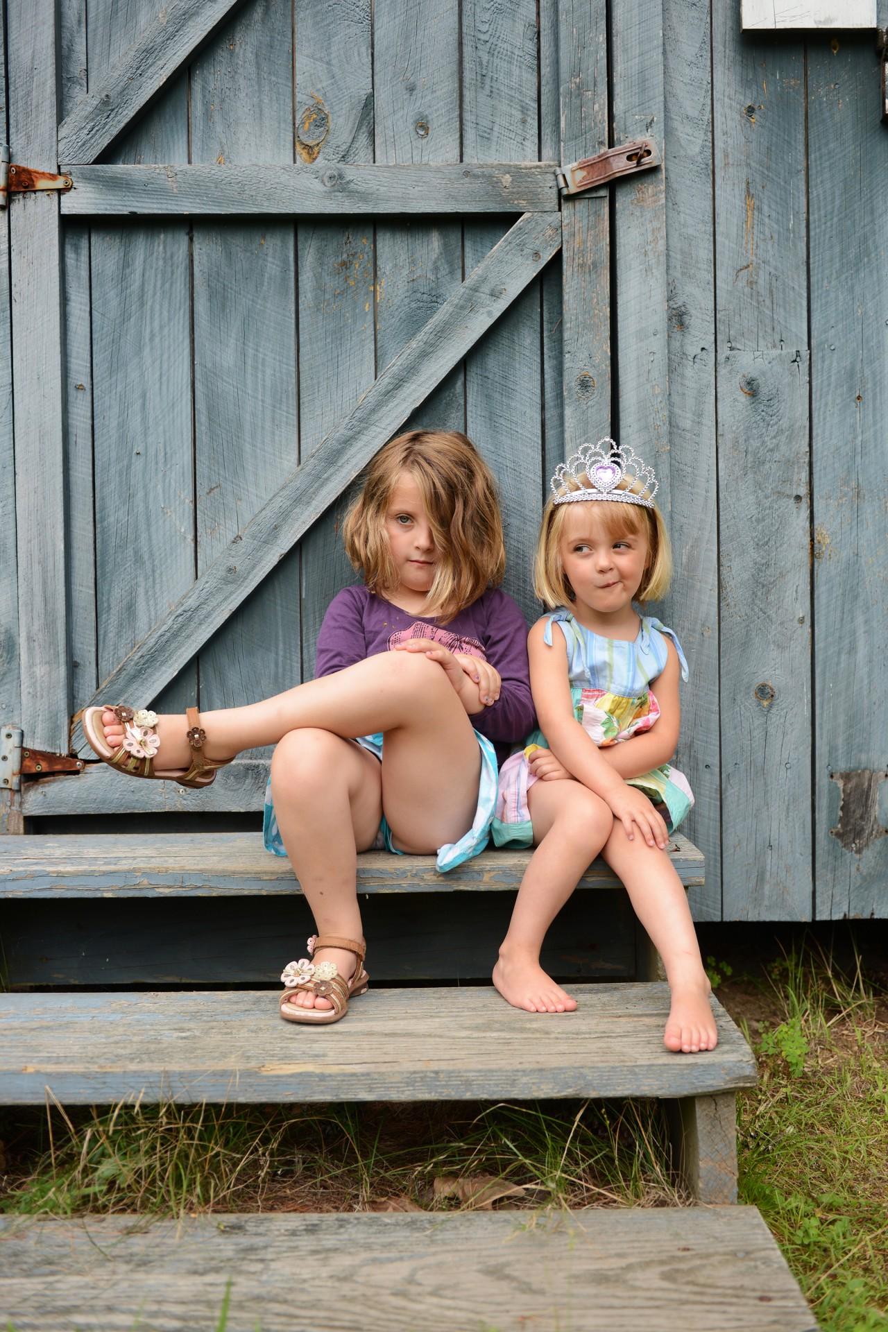 Amelia and Meg
